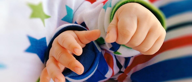 Manos de bebés