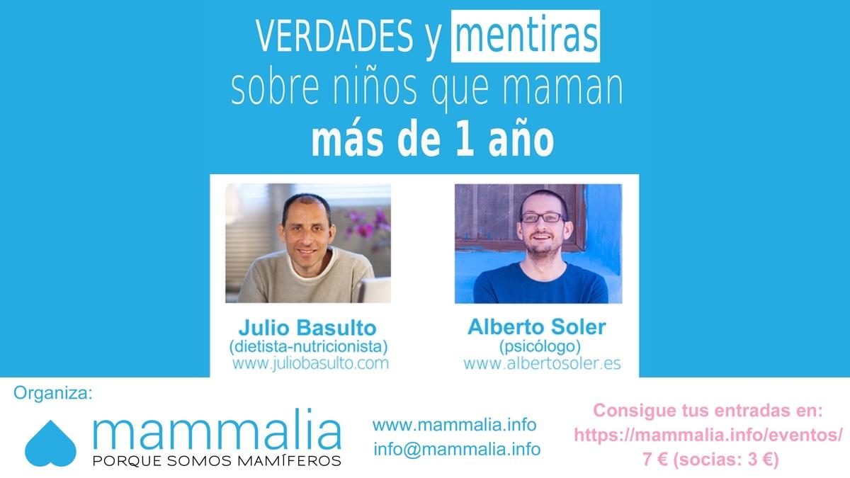 Charla Julio Basulto Alberto Soler