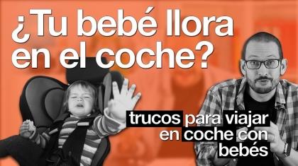 ¿Tu bebé llora en el coche? En esta píldora de psicología, Alberto Soler te va a dar trucos para viajar el coche con tu bebé.