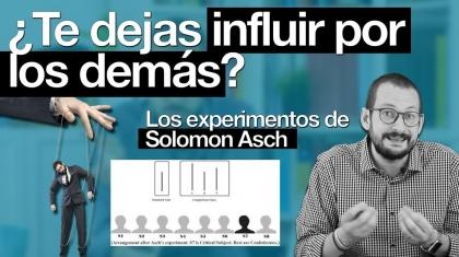 experimento de solomon asch conformidad Alberto Soler píldoras de psicología