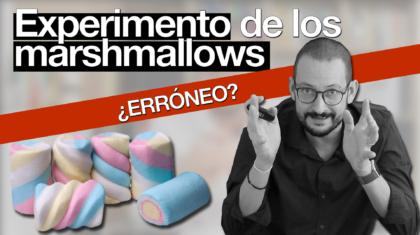 experimento de los marshmallows