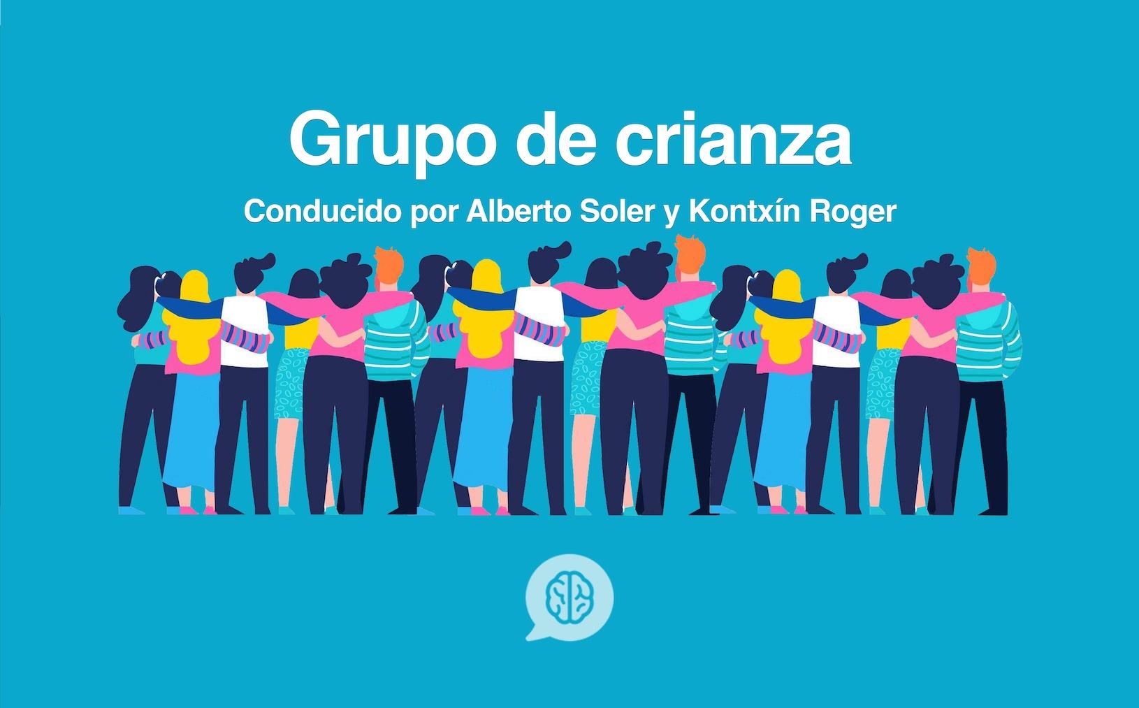 Grupo de Crianza en Valencia. Conducido por Alberto Soler y Kontxín Roger.