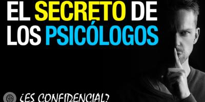 secreto profesional de los psicólogos